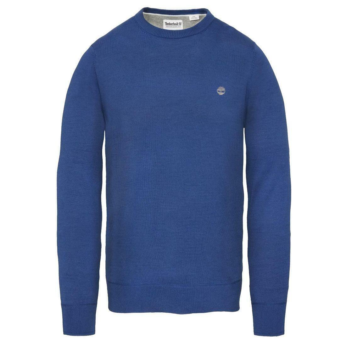 timberland timberland wiliams river crew maglioncino uomo blu a1qtw428