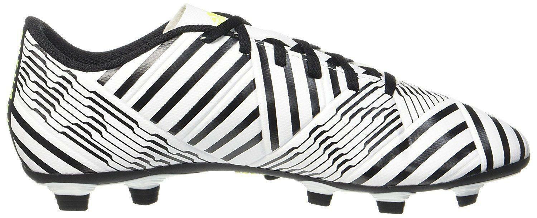 adidas adidas nemeziz 17.4 fxg scarpini calcio uomo bianchi