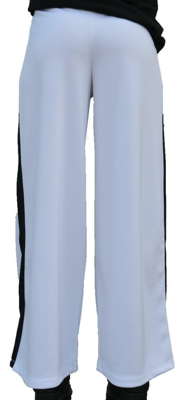 converse converse pantalone a palazzo donna bianco 7404a02