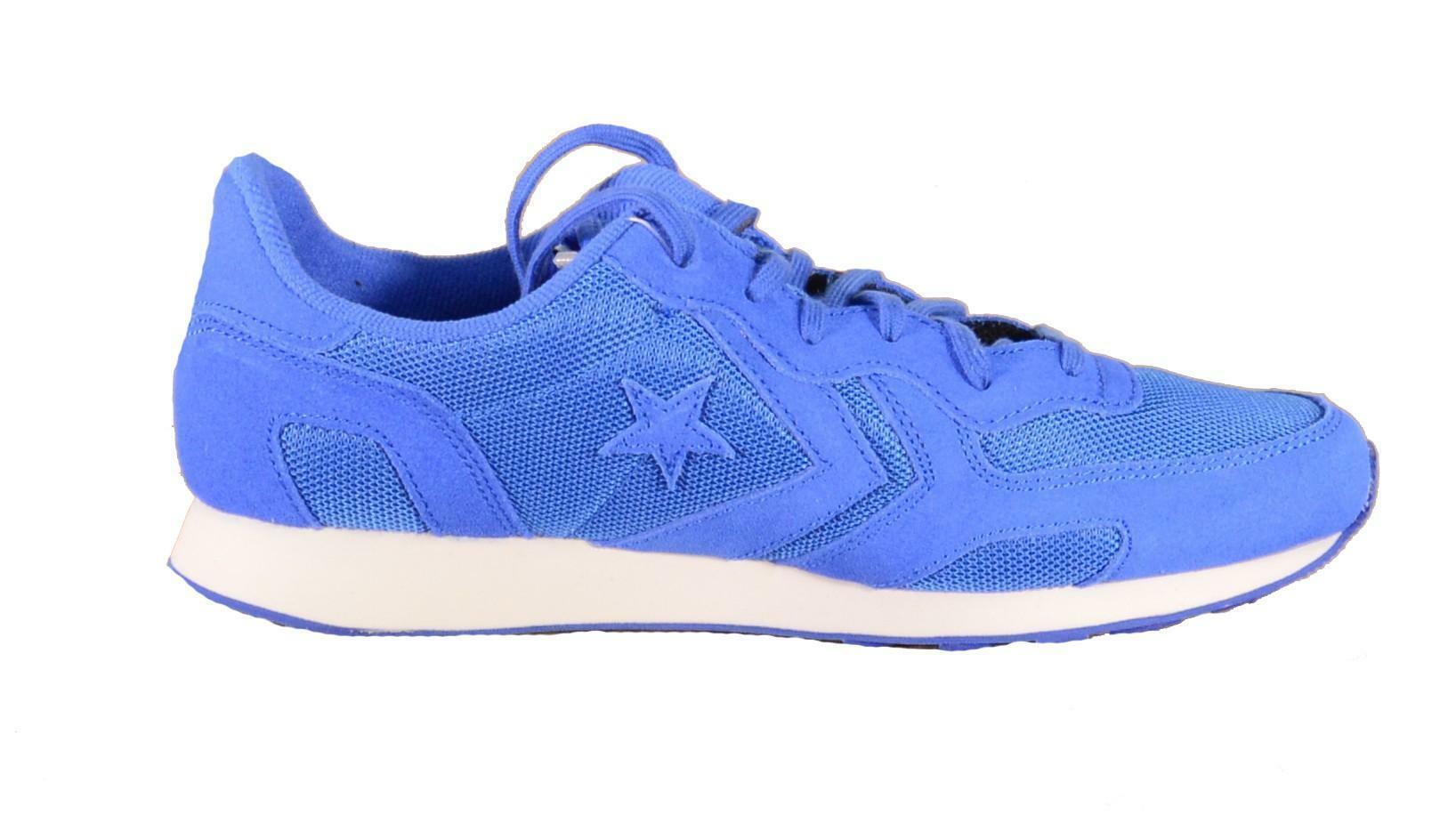 converse converse auckland racer ox scarpe sportive uomo blu tela 152678c