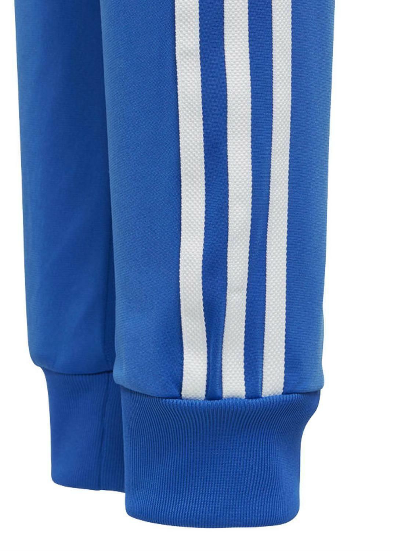 adidas adidas j sst pantalone tuta bambino azzurri