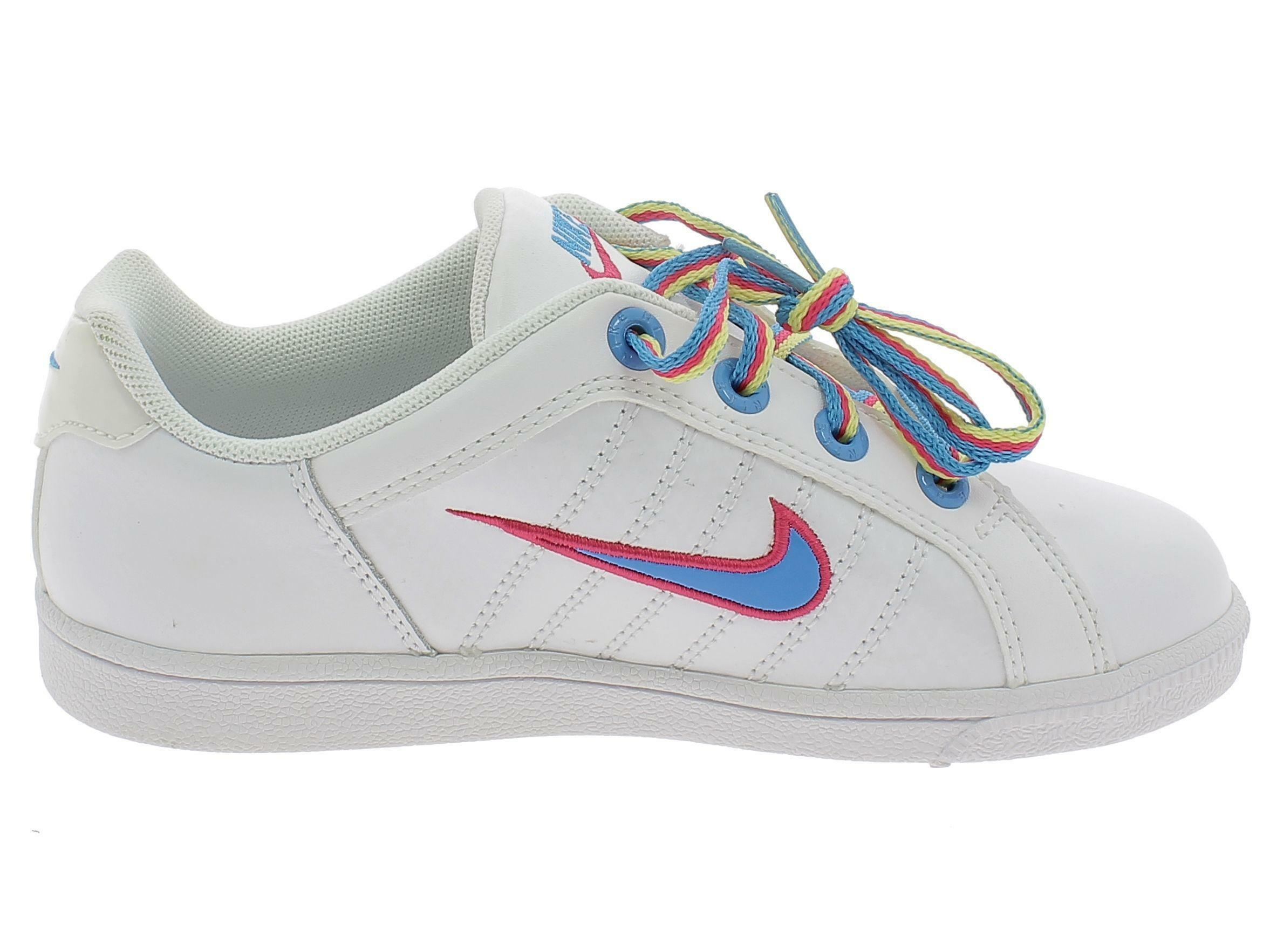 nike nike court tradition 2 plus (ps) scarpe bambina bianche pelle 386623