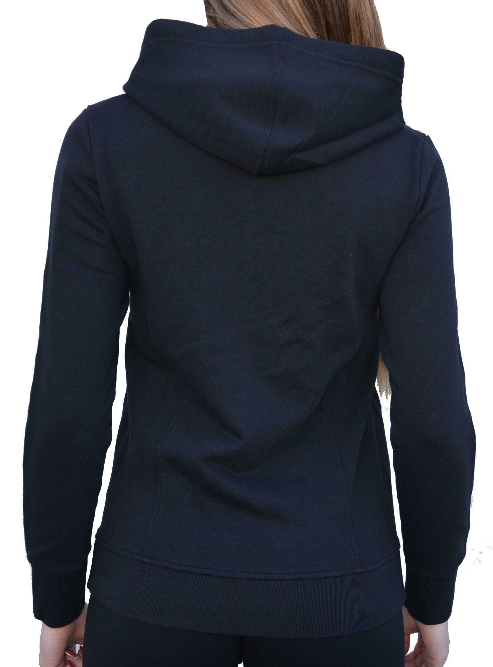 converse converse giacchetto donna nero cotone garzato