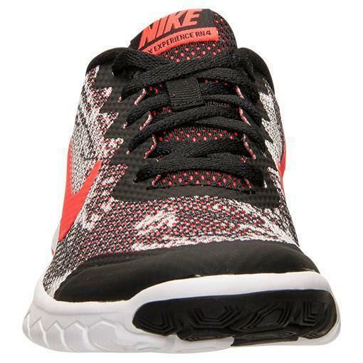 nike nike flex experience 4 print gs scarpe sportive donna nere pelle tela 749811