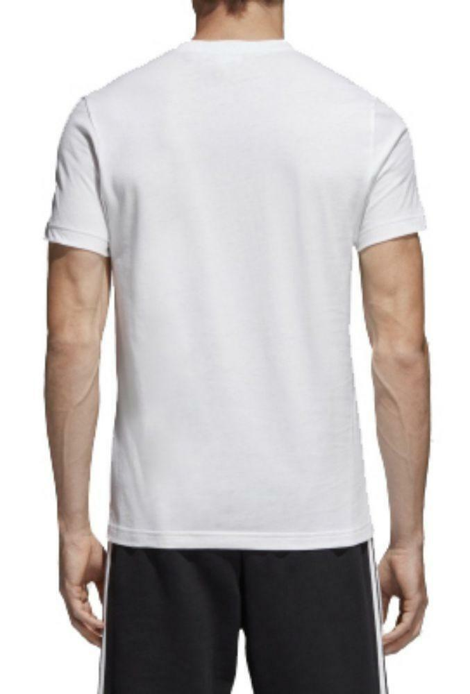 adidas adidas originals trefoil tee t-shirt uomo bianca
