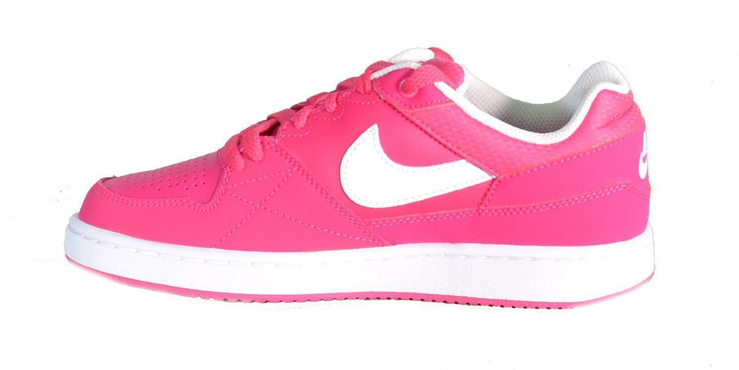 nike nike priority low gs scarpe sportive donna pelle fuxia 653688