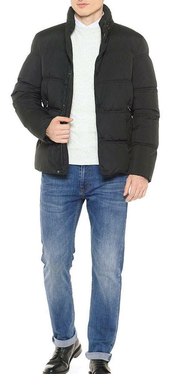 geox geox man down jacket giubbotto uomo nero