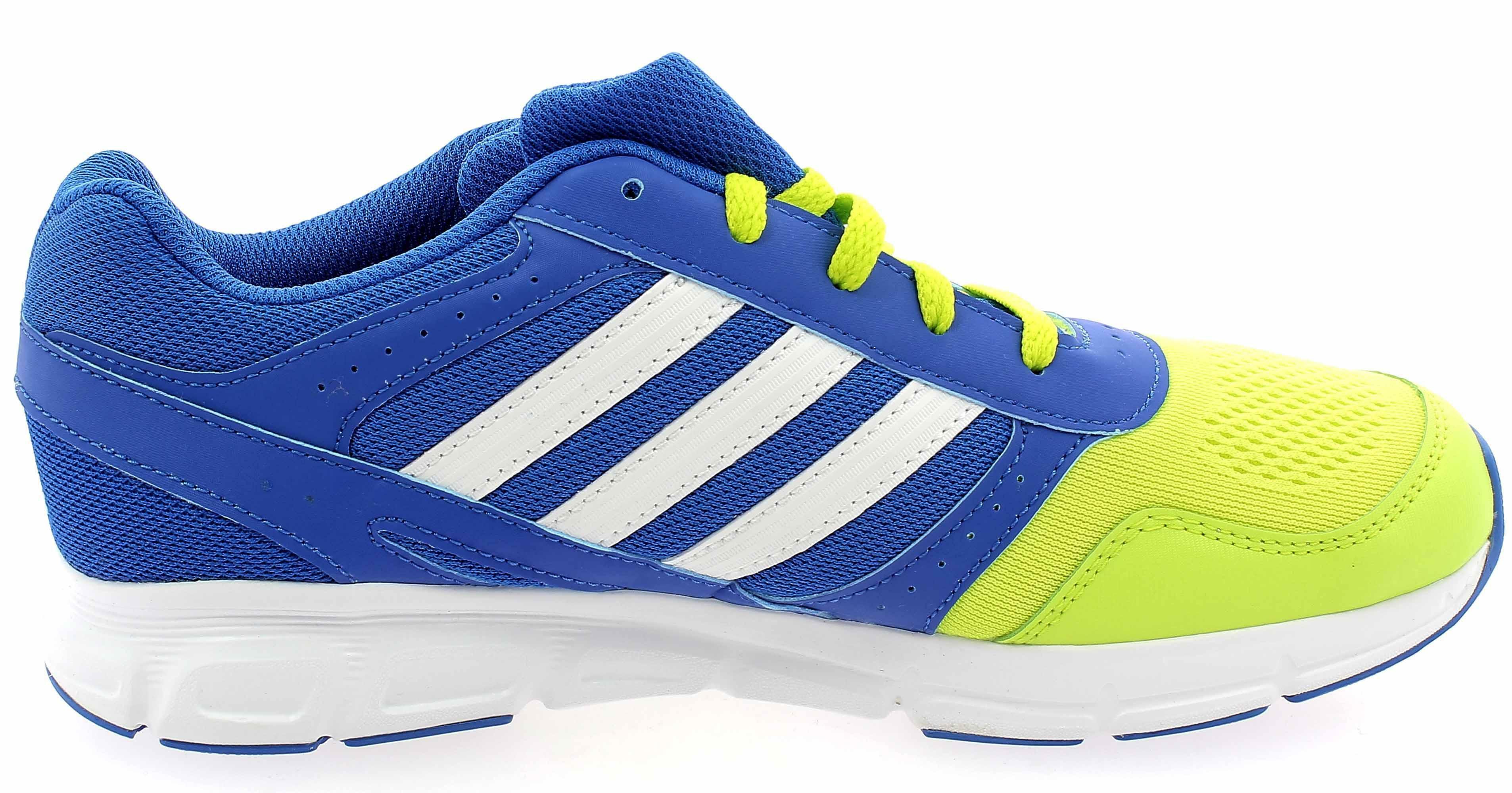 adidas adidas hyperfast k scarpe donna blu pelle tela b44120