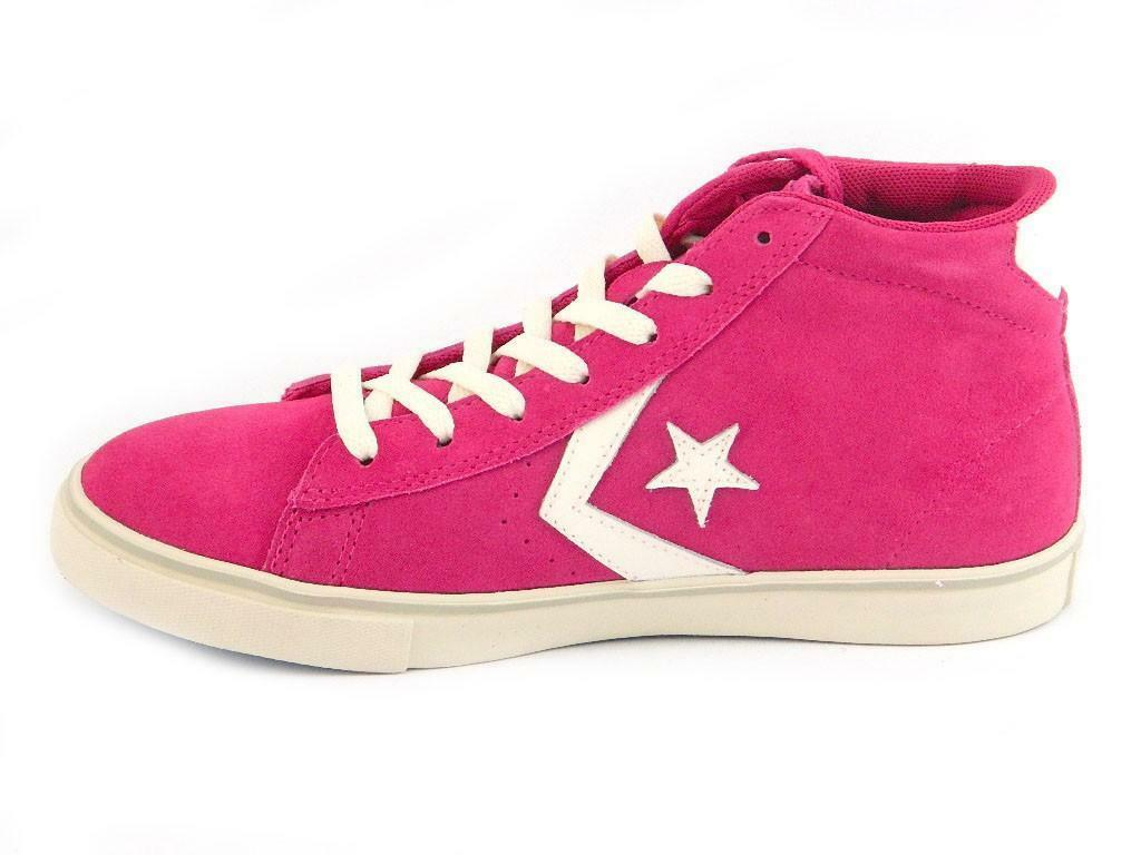 converse converse all star pro leather scarpe sportive donna rosa 641632c