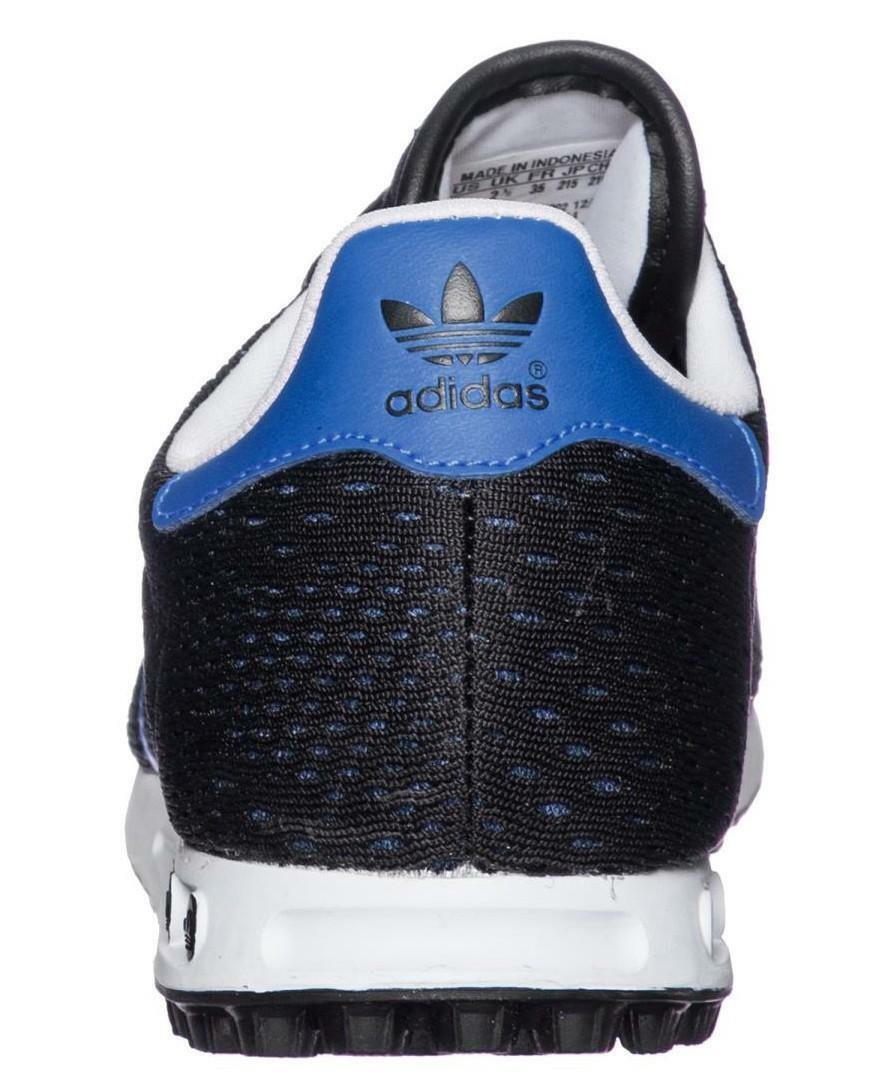 adidas adidas la trainer em k scarpe sportive tela blu s78983