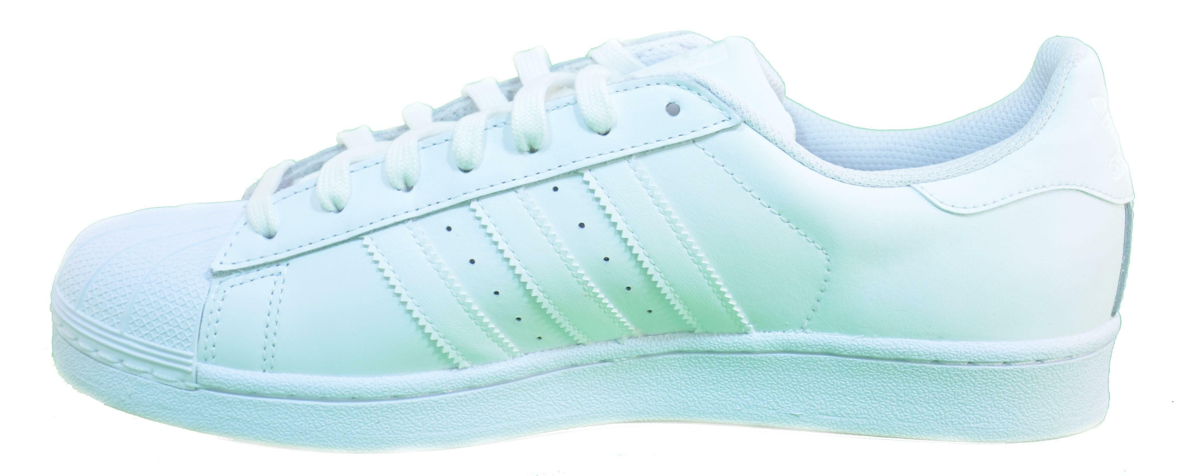 adidas superstar foundation scarpe uomo bianche pelle b27136