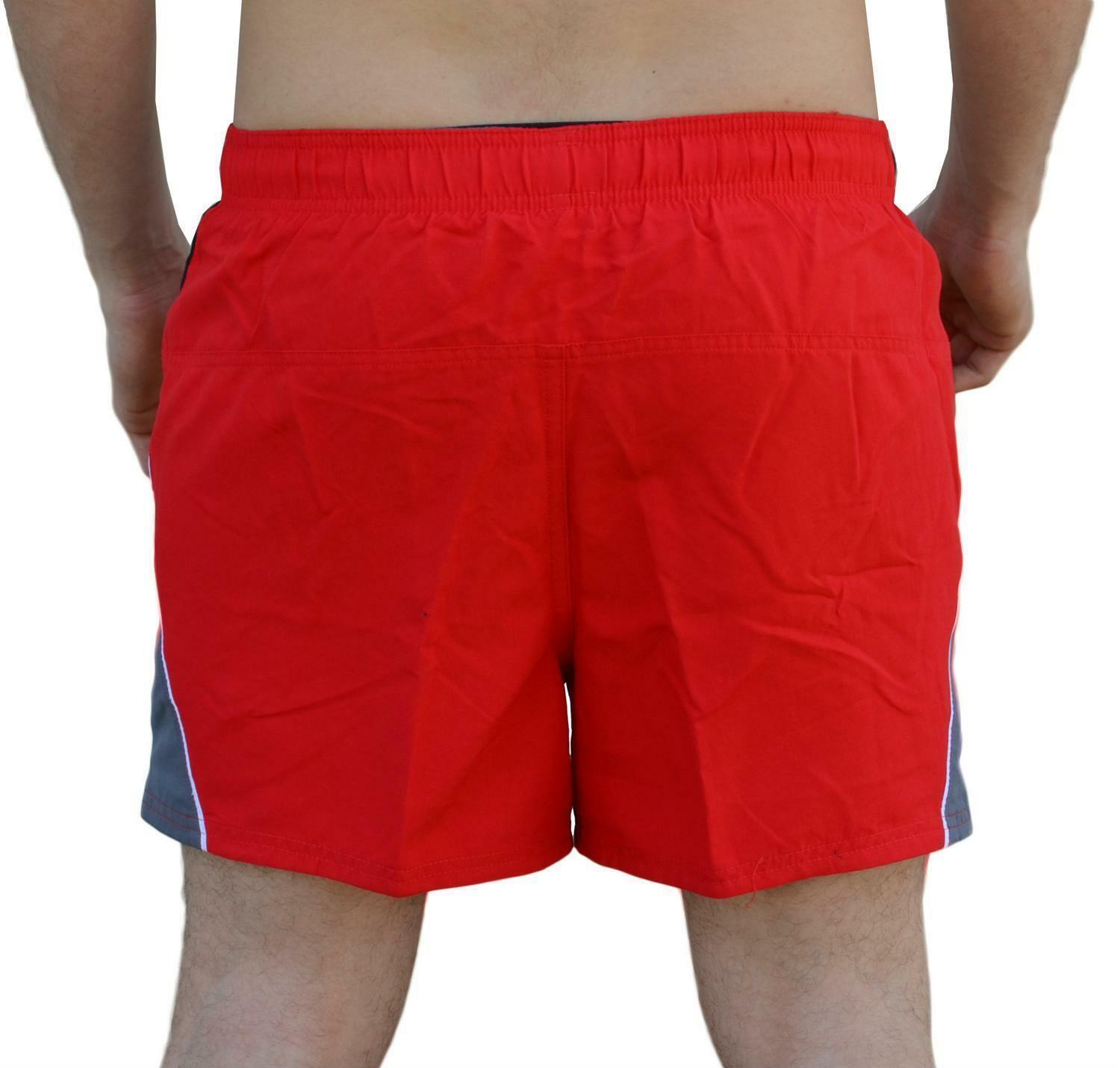nike nike 4'' volley short costume uomo rosso ness8515614