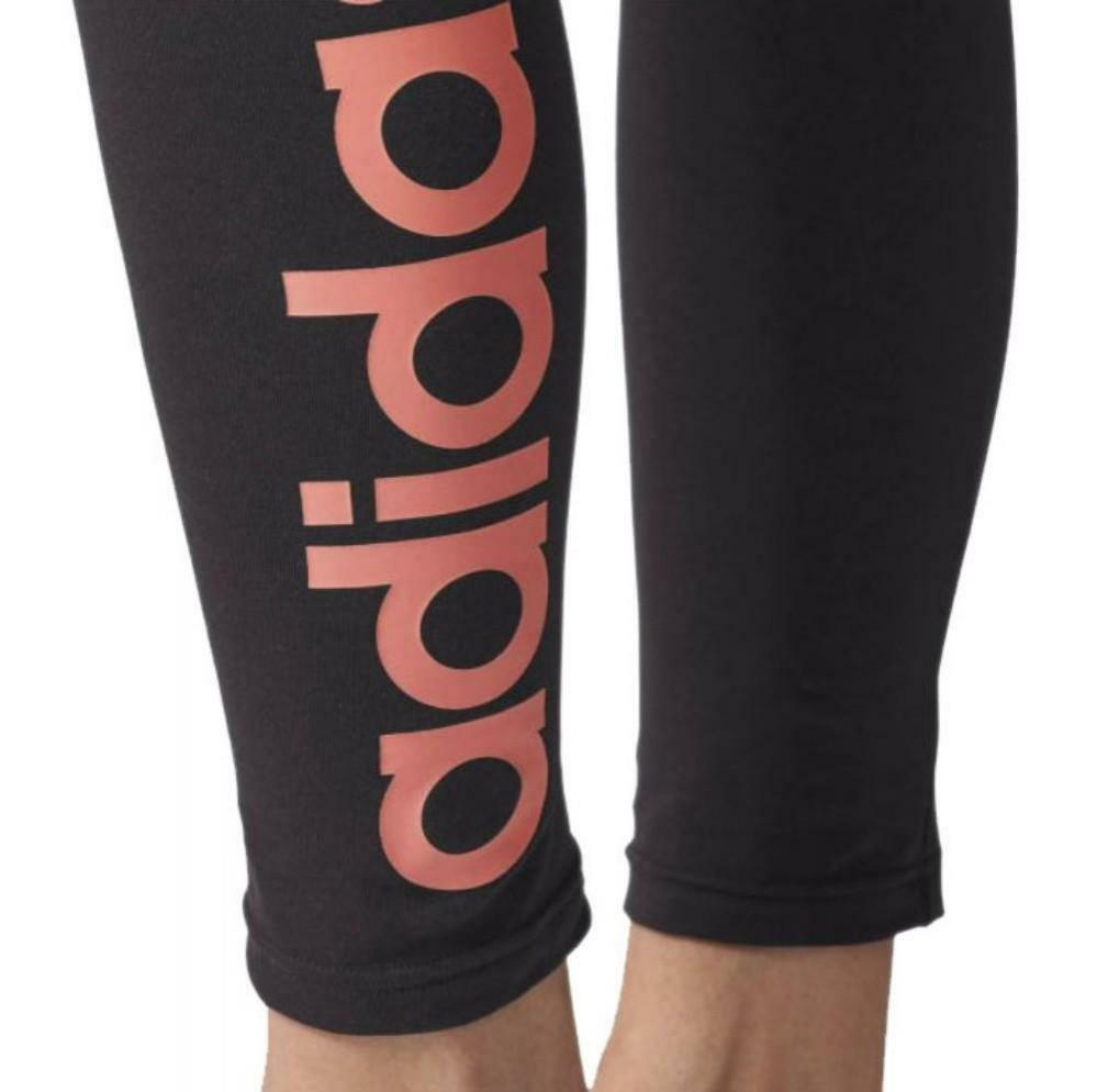 adidas adidas ess lin tight leggings neri elasticizzati