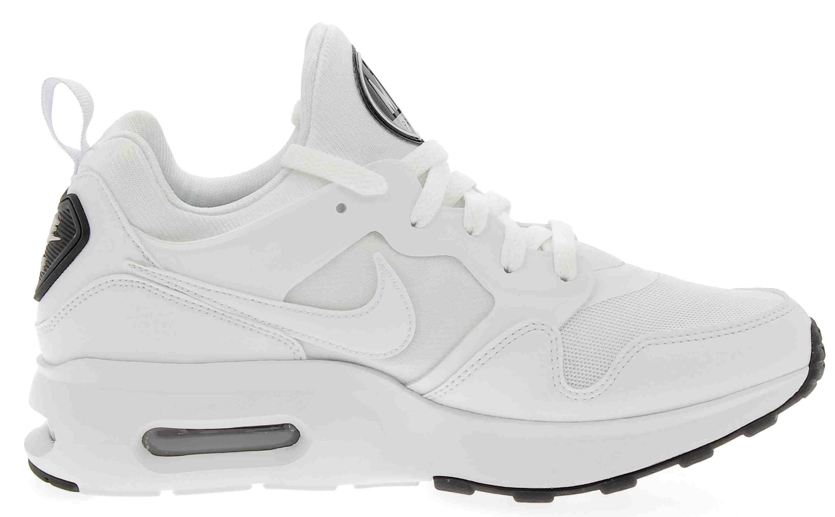 nike nike air max prime scarpe sportive uomo bianche