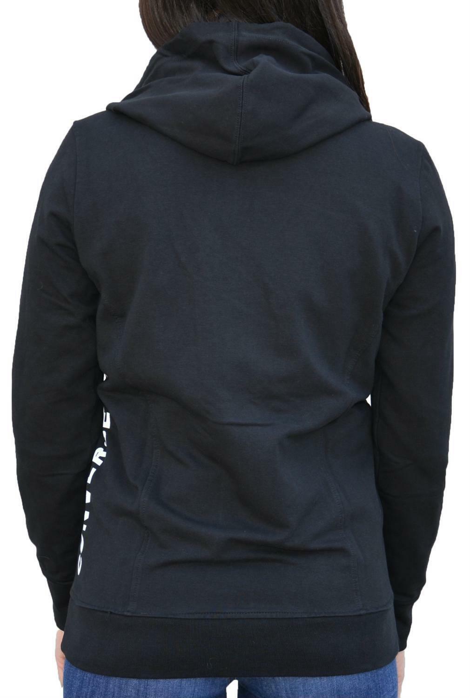 converse converse giacchetto donna cotone garzato nero 7390a01