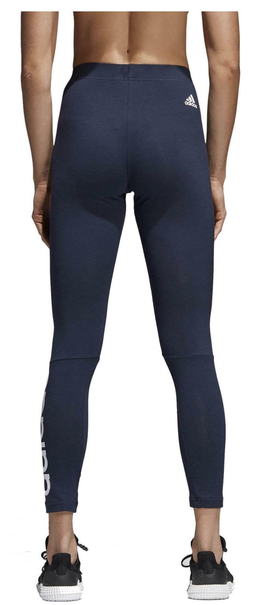 adidas adidas ess lin tight leggings donna blu cf8870