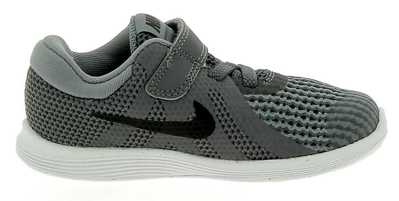 nike nike revolution 4 (tdv) scarpe sportive bambino grigie