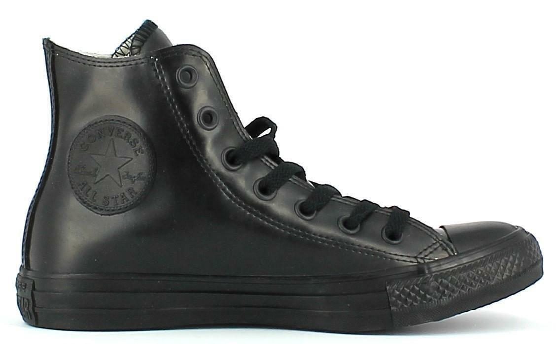 converse converse all star scarpe sportive nere gomma