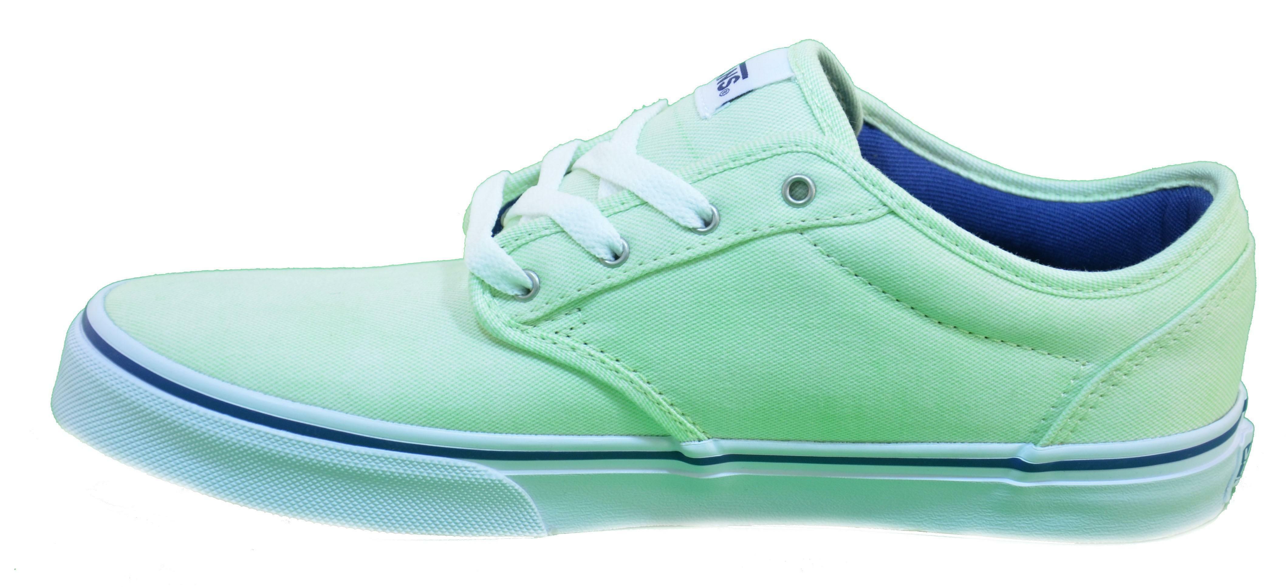 vans vans atwood scarpe bambino verdi tela zusfpq