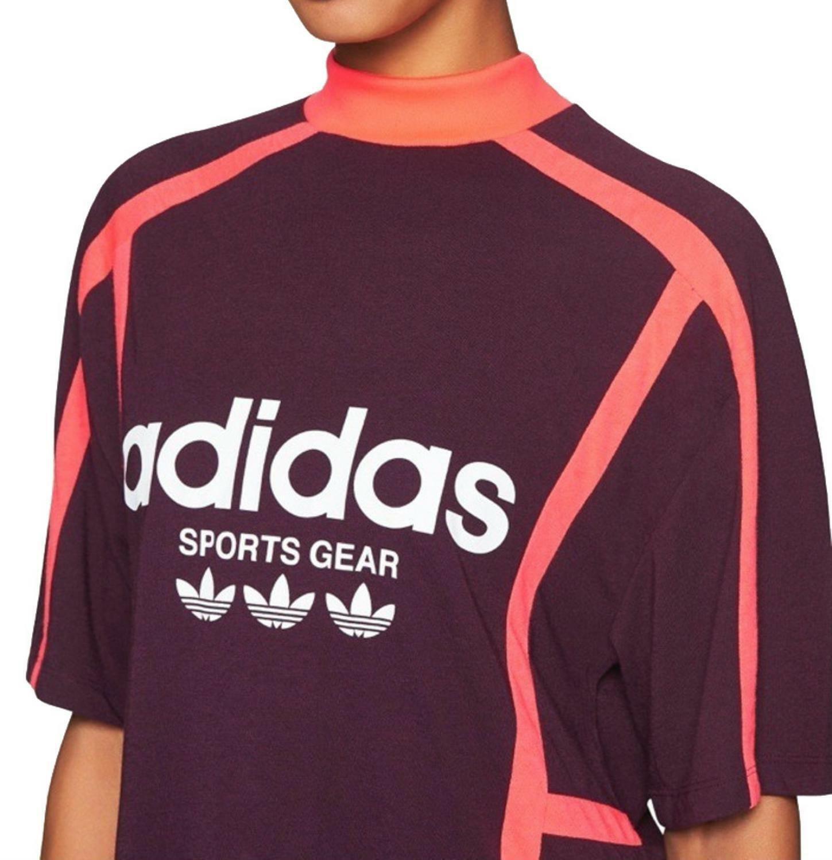 adidas originals adidas og aa-42 tee t-shirt donna viola cv8597