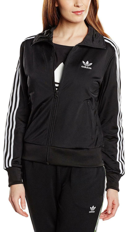 adidas adidas firebird giacchetto donna nero