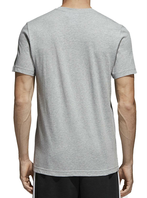 adidas originals adidas originals traction trefoi t-shirt uomo grigia ce2241