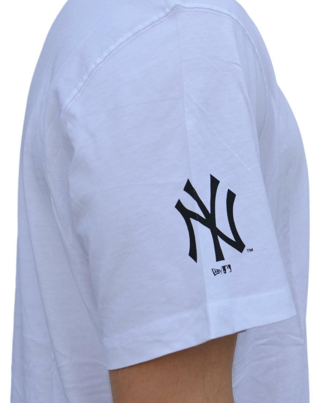 new era new era elegance tee t-shirt uomo bianca 11517773