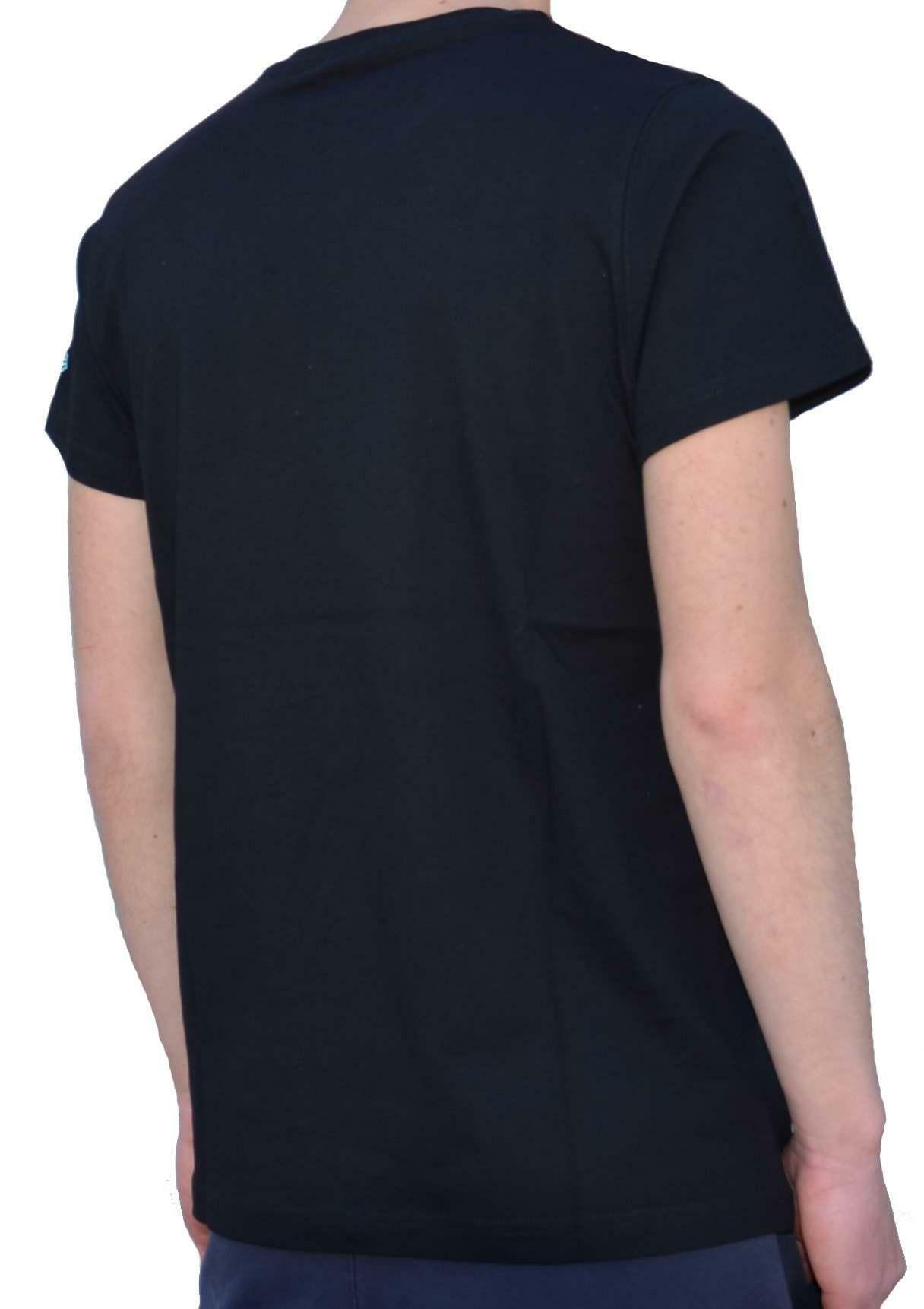 new era elephant mesh t-shirt uomo nera