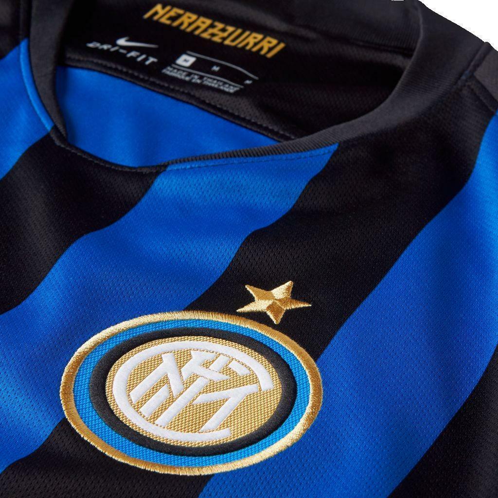 nike nike maglia ufficiale inter stadium home uomo 918999011