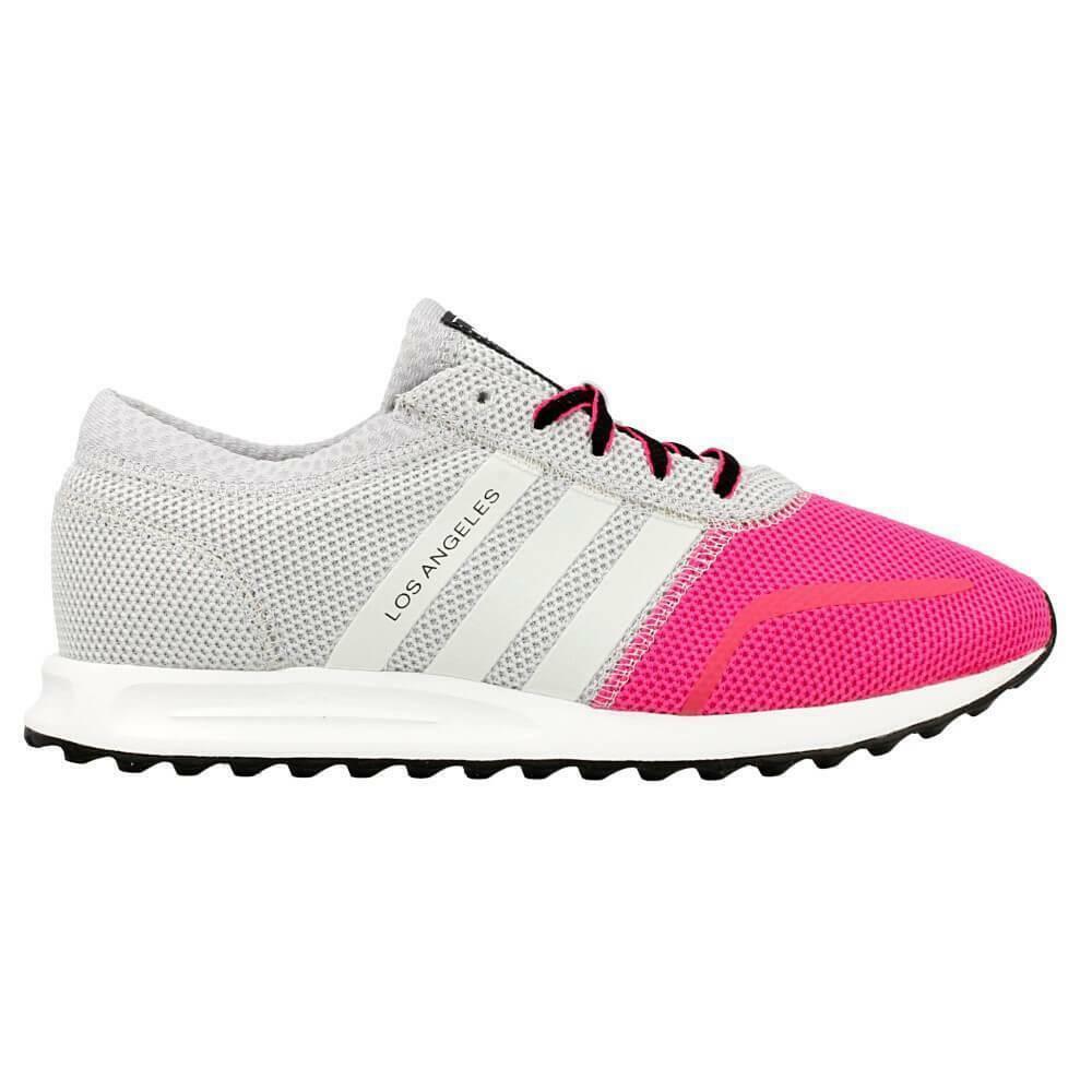 adidas adidas los angeles k scarpe sportive donna fucsia grigie s74878