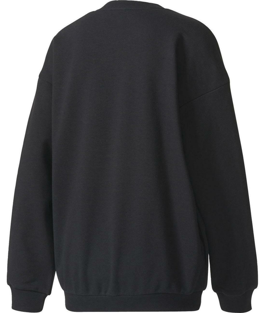adidas originals adidas trefoil hoodie felpa donna nera