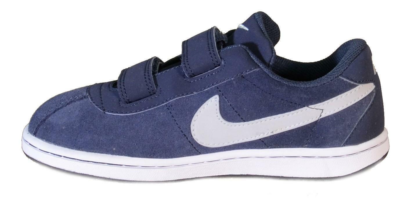 nike brutez plus (ps) scarpe bambino blu pelle strappi 535449