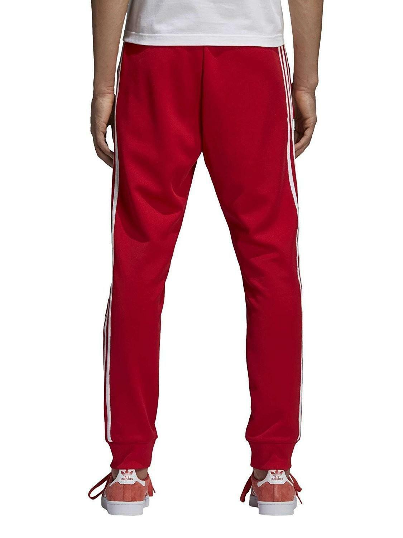 adidas adidas sst pantalone uomo rosso