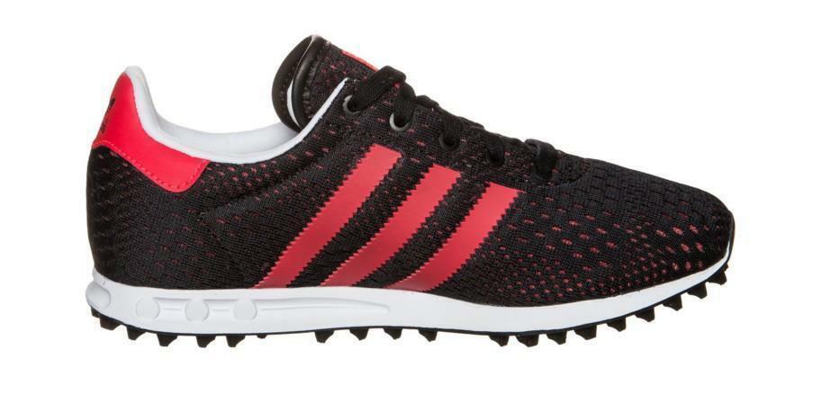 adidas adidas la trainer em k scarpe sportive nere tela s78984