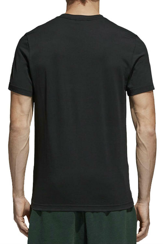 adidas adidas originals traction trefoi t-shirt uomo nera ce2240