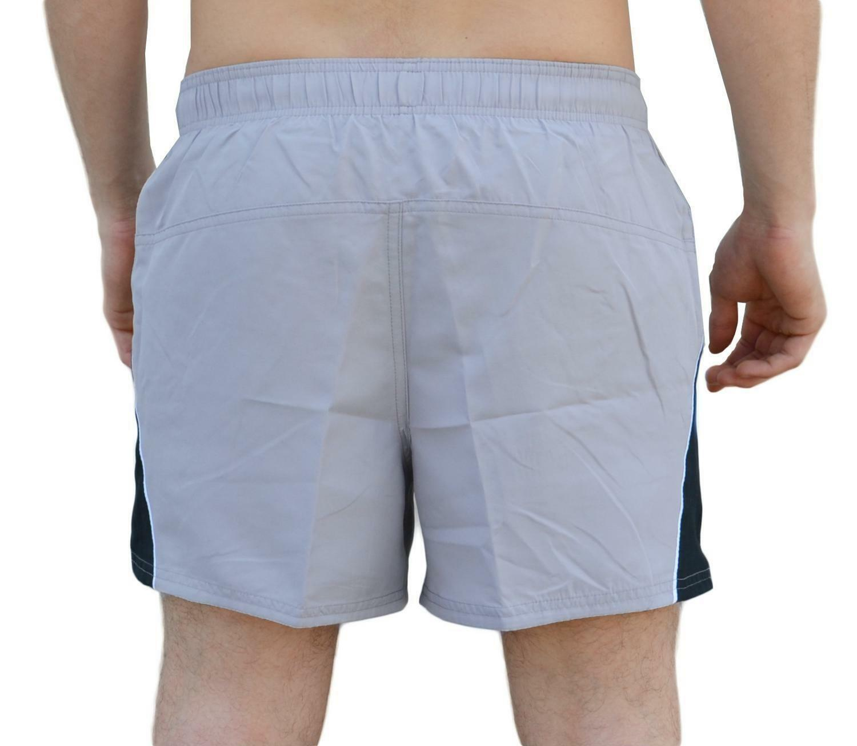 nike nike 4'' volley short costume uomo grigio ness8515077