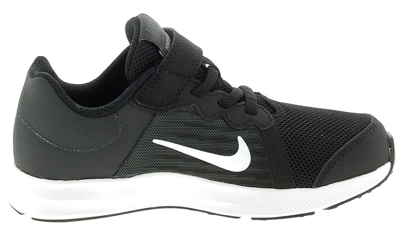 nike nike downshifter 8 psv scarpe sportive nere bambino 922854001