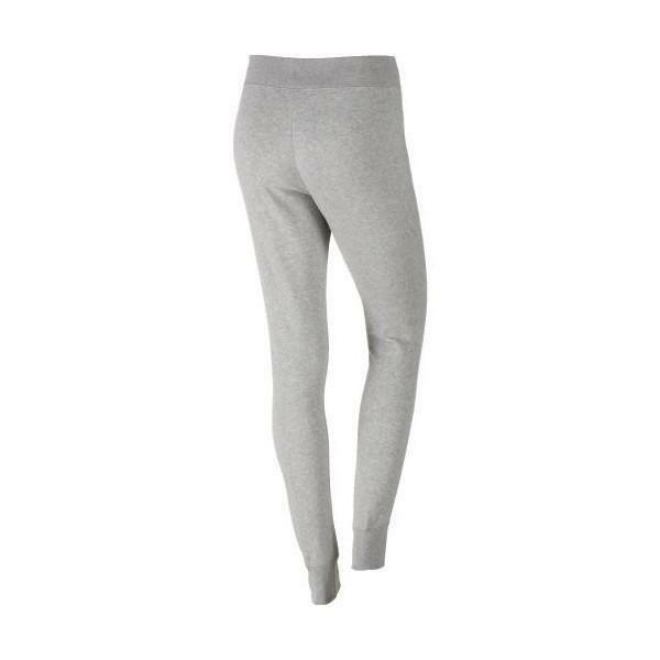 nike pantalone tuta fitness grigio 614930