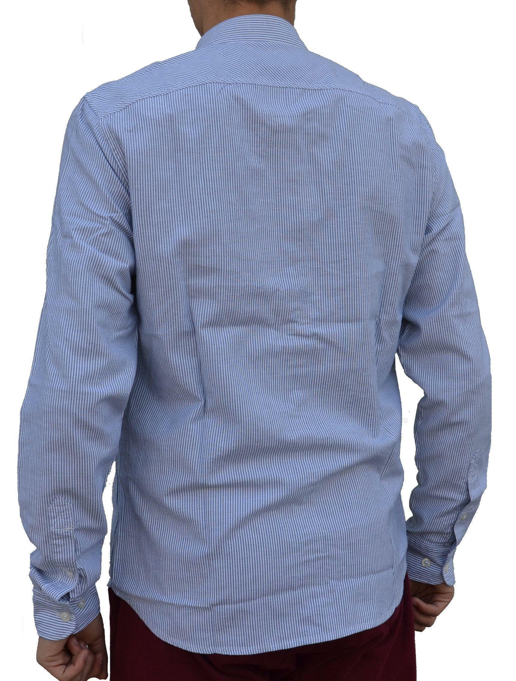 timberland timberland ls rattle river camicia uomo bianca blu