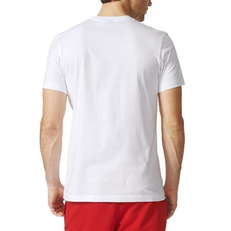 adidas originals adidas t-shirt uomo bianca fitness girl