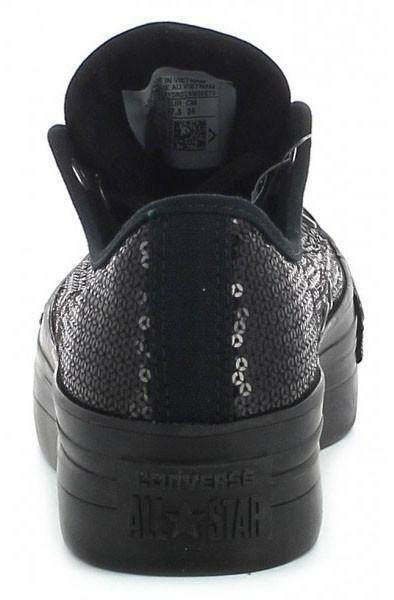 converse converse ctas platform ox scarpe donna nere