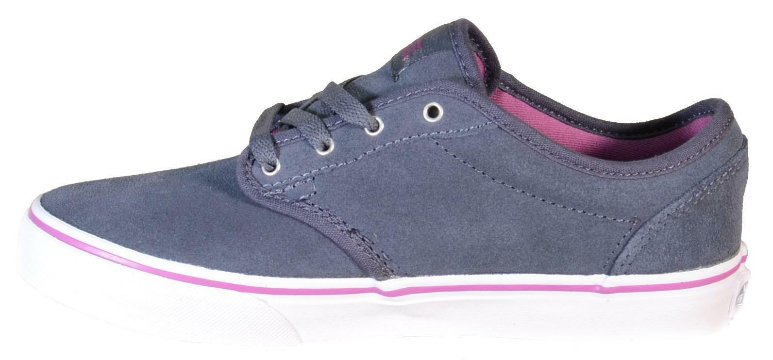 vans vans atwood scarpe sportive donna blu pelle zusgl2
