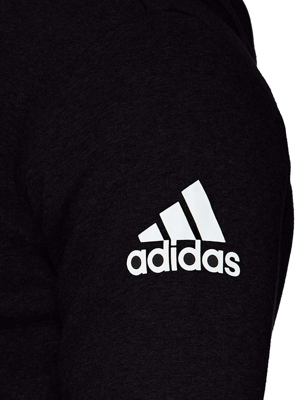 adidas adidas essentials fz felpa nera uomo bk3717