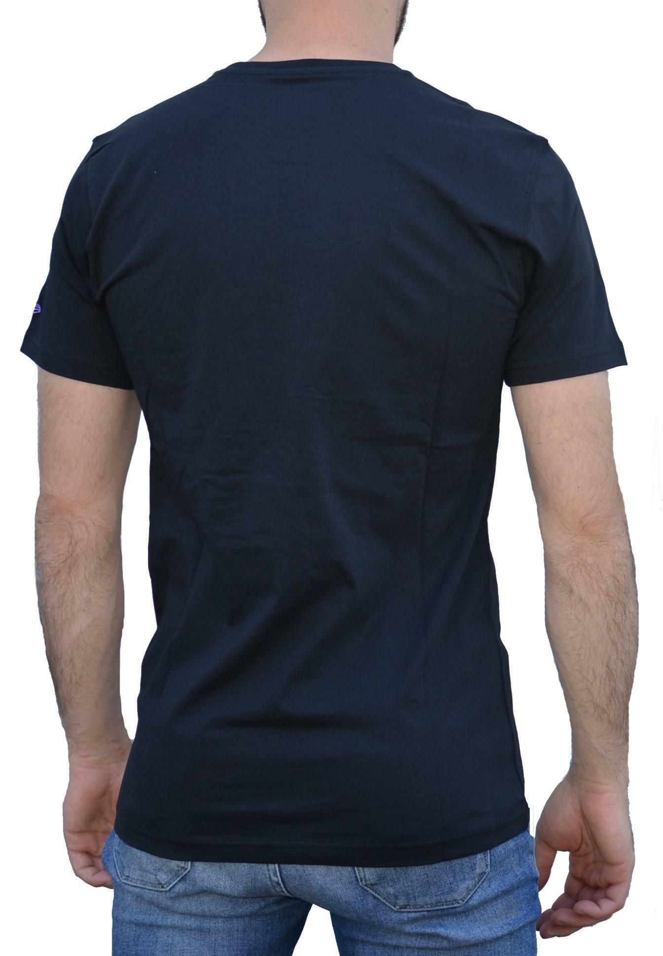 new era diamond flag t-shirt uomo nera 11001151