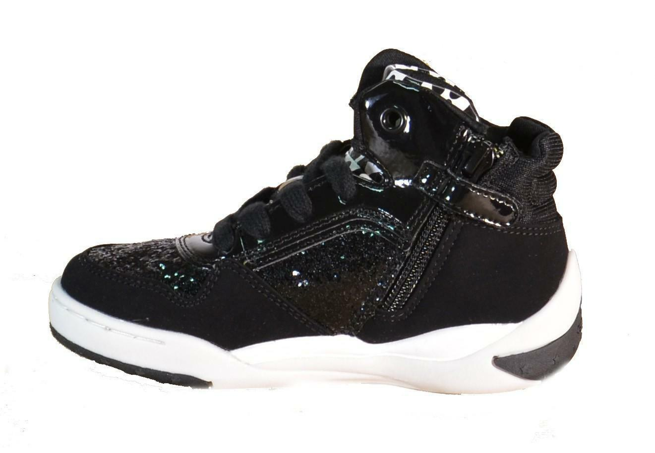 geox geox ayko scarpe bambina nere pelle j5401b