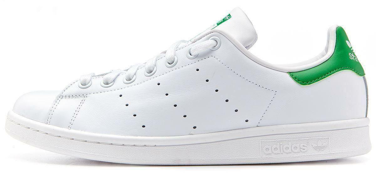 adidas adidas stan smith scarpe sportive bianche pelle m20324