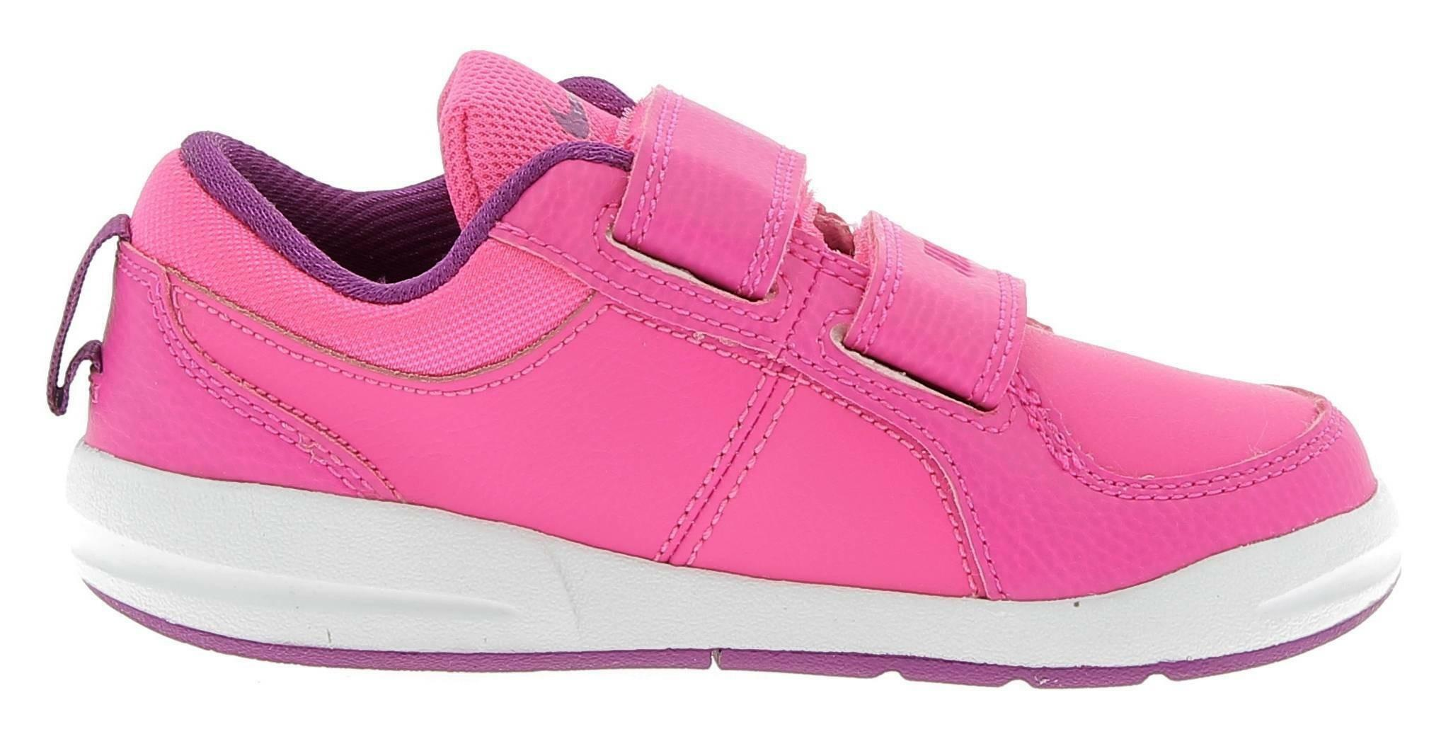 nike nike pico 4 psv scarpe sportive bambina strappi rosa