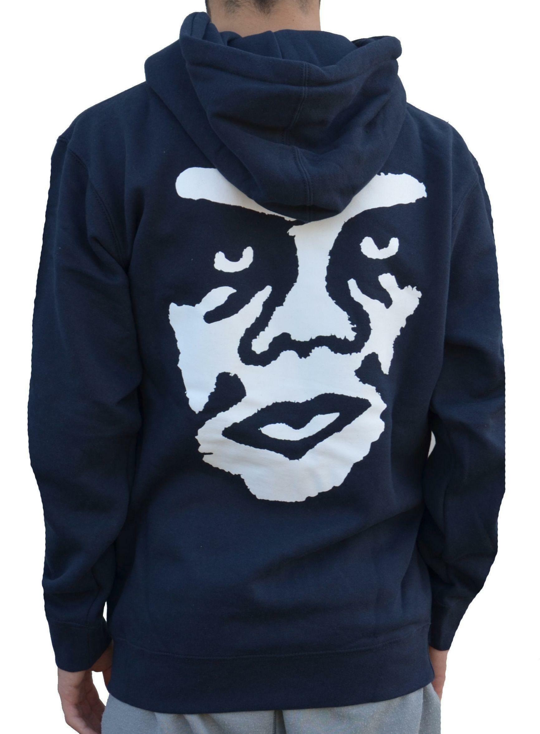 obey obey the creeper basic giacchetto uomo blu