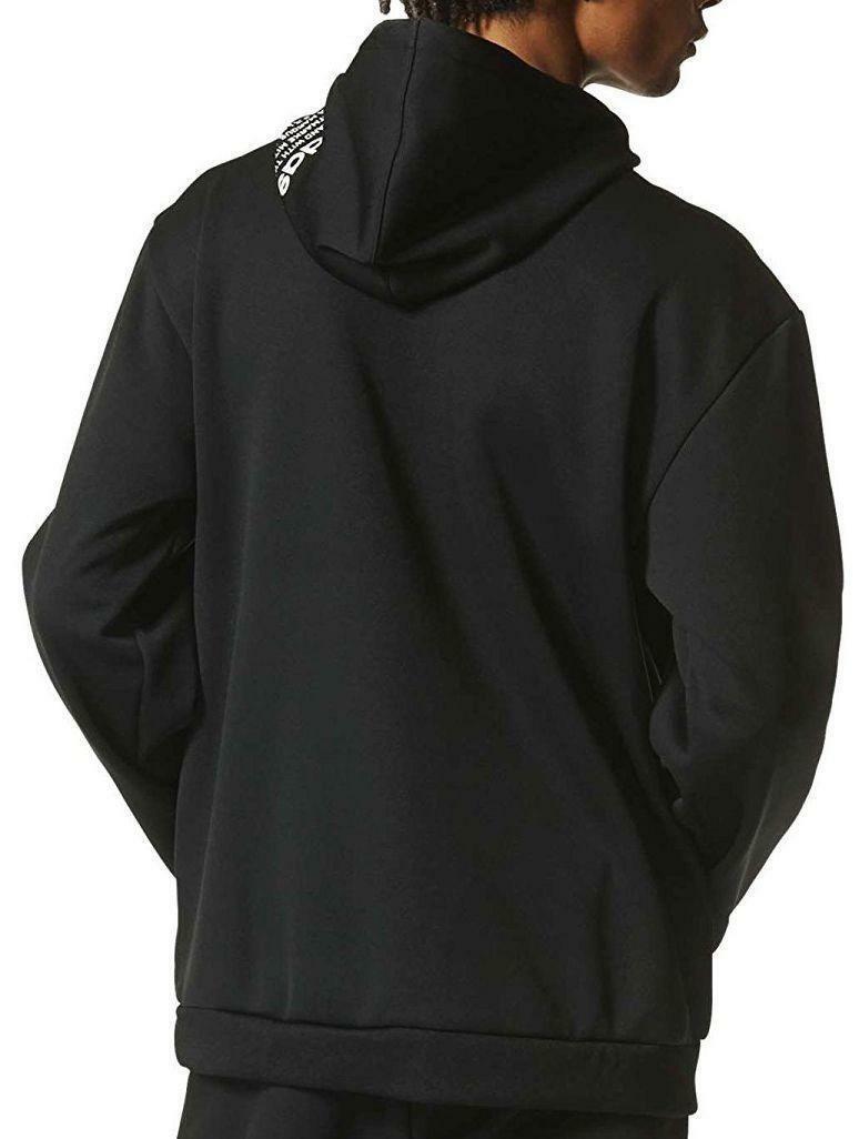 adidas adidas nmd d-fz hoody felpa zip uomo nera bp5546