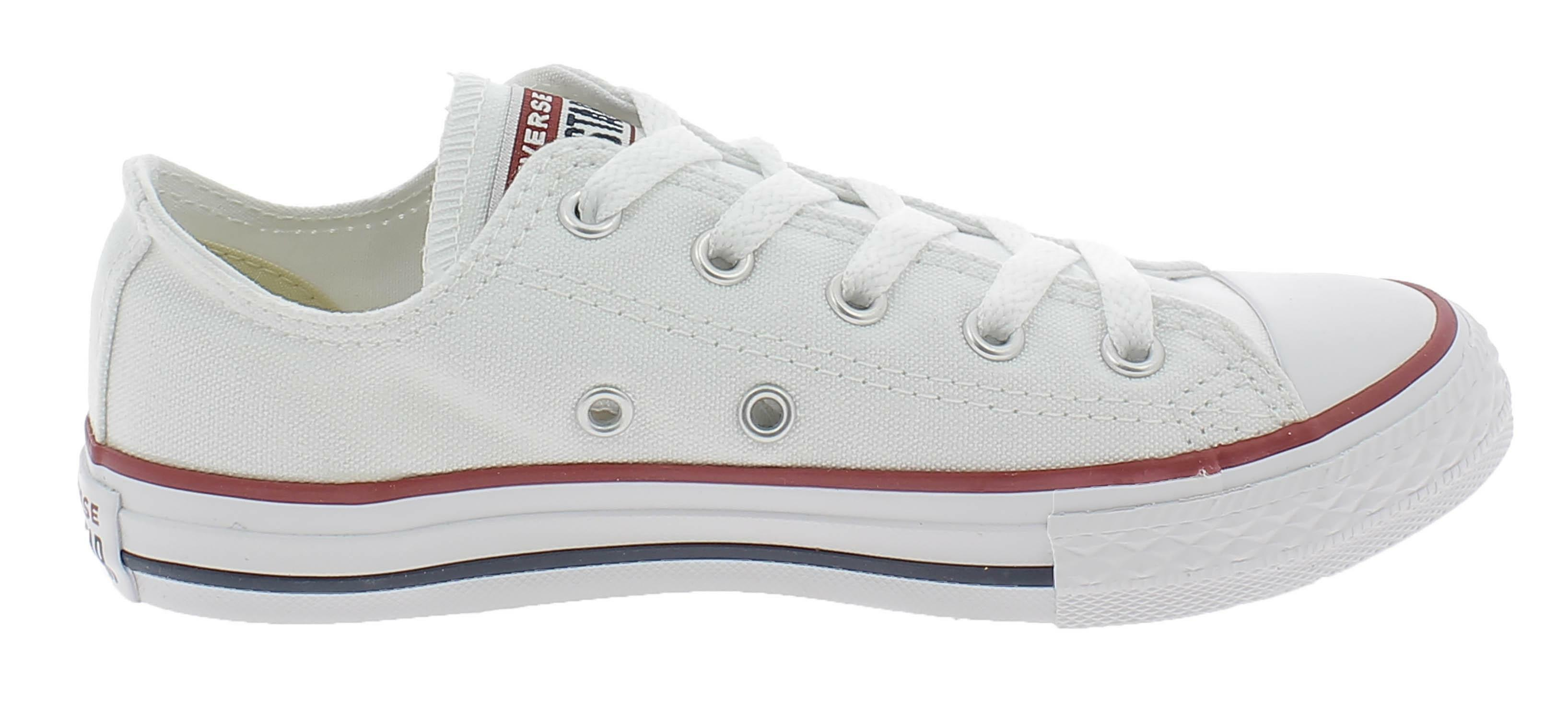 scarpe converse bambino bianche 25
